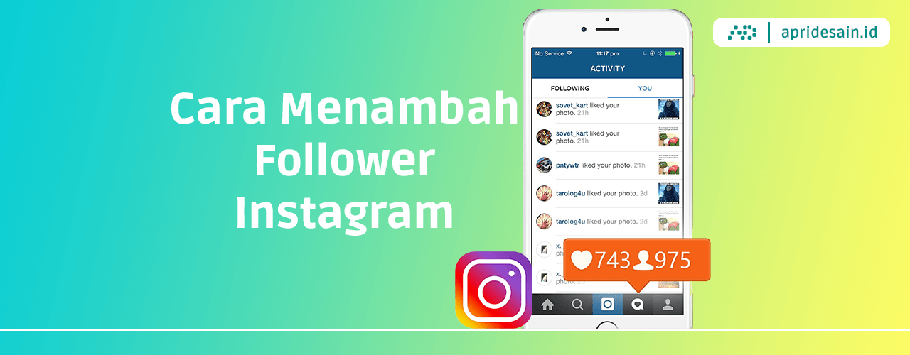 cara tambah followers instagram