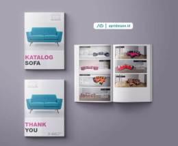 jasa desain company profile sofa