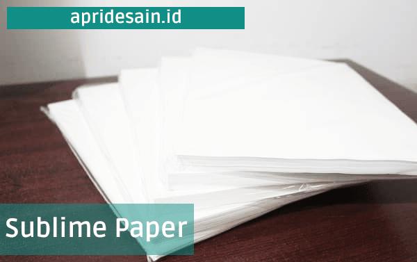 kertas sublime paper