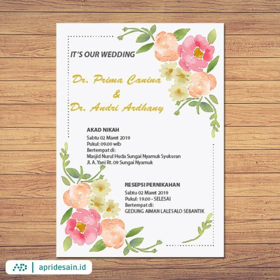 digital e-invitation wedding