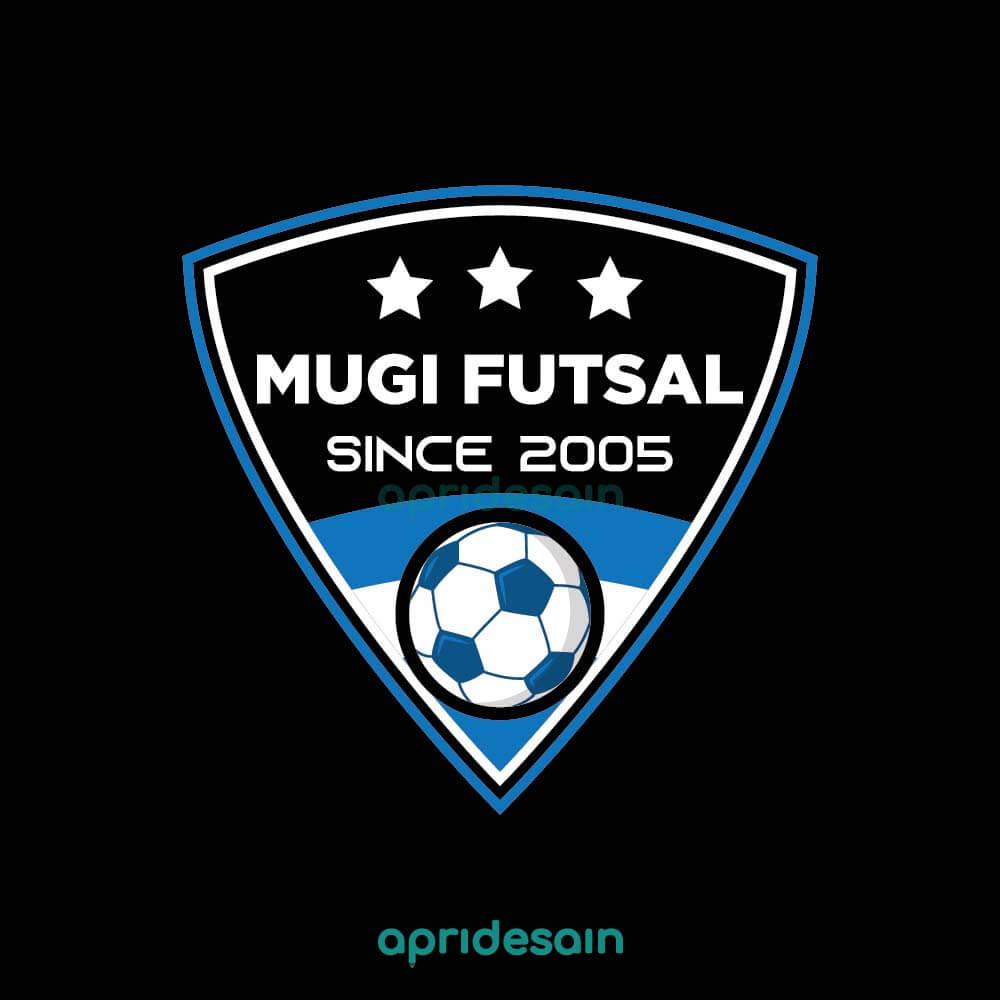 desain logo mugi futsal