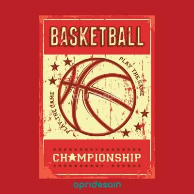 desain logo untuk tim basket