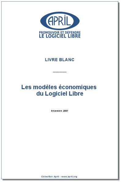 Le Livre Blanc des Modèles Économiques du Logiciel Libre