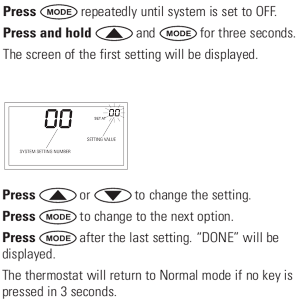 medium resolution of the temperature scale s adjustable between fahrenheit and celsius in the set up menu and is system setting option 04 the factory default is fahrenheit