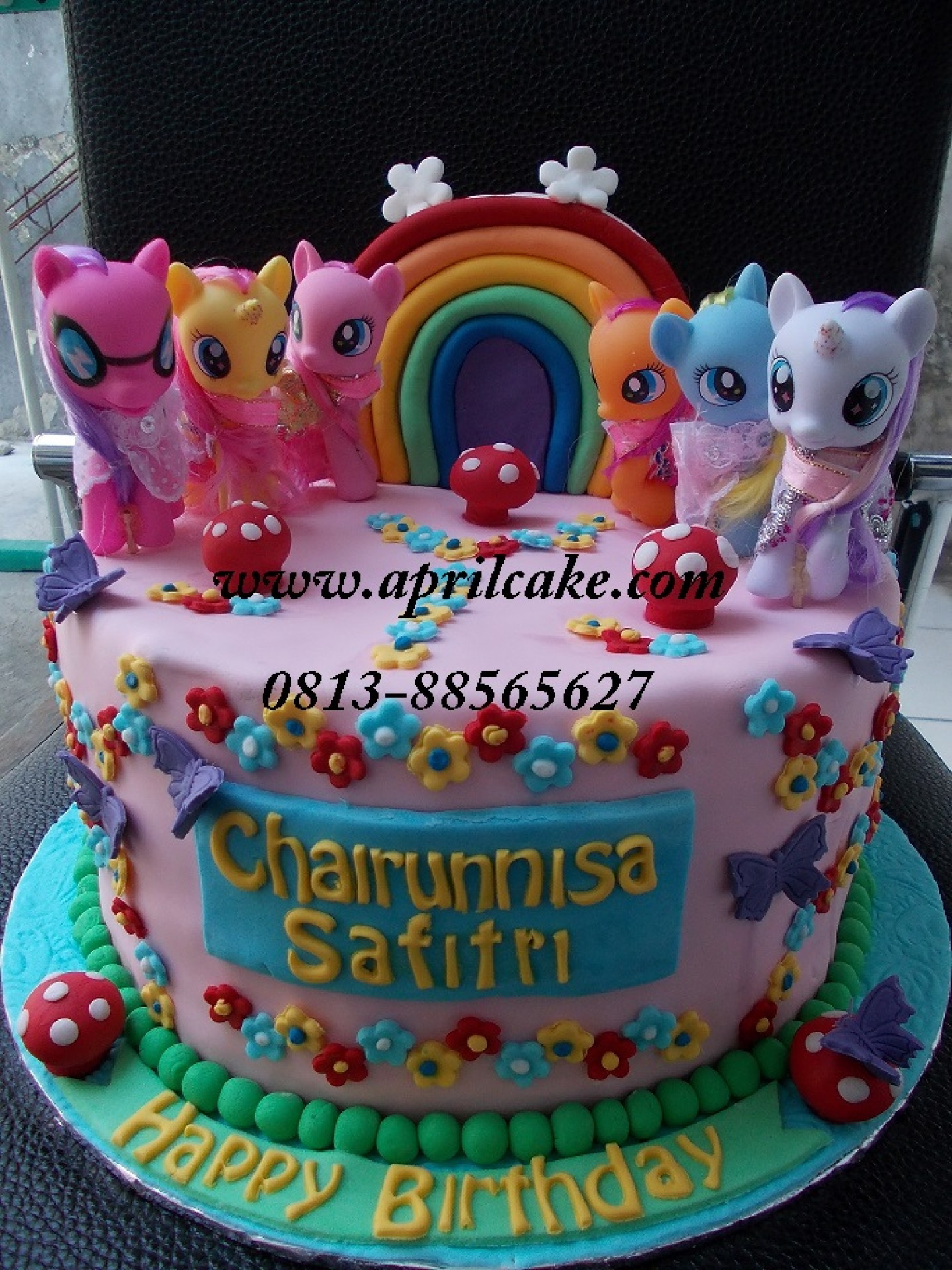 little pony  April Cake