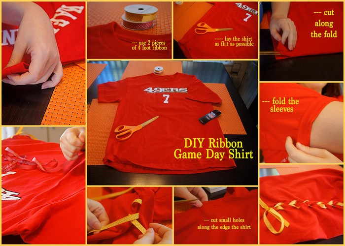 Game Day T-shirt DIY