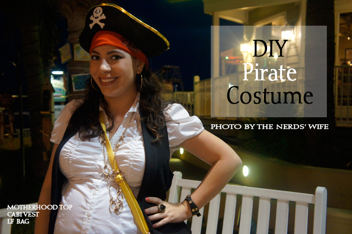 Destin Pirate Party DIY Outfit  sc 1 st  April Golightly & Destin Pirate Party DIY Outfit - April Golightly