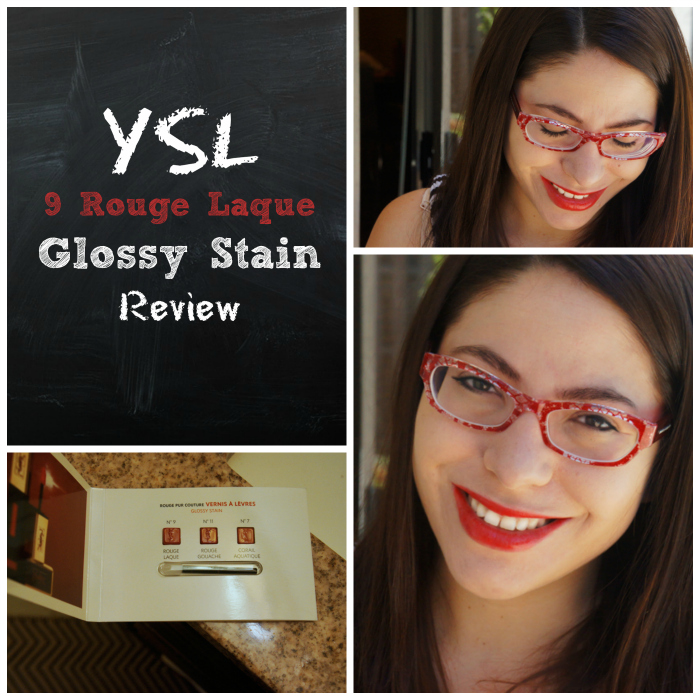 Yves Saint Laurent Glossy Stain Review April Golightly