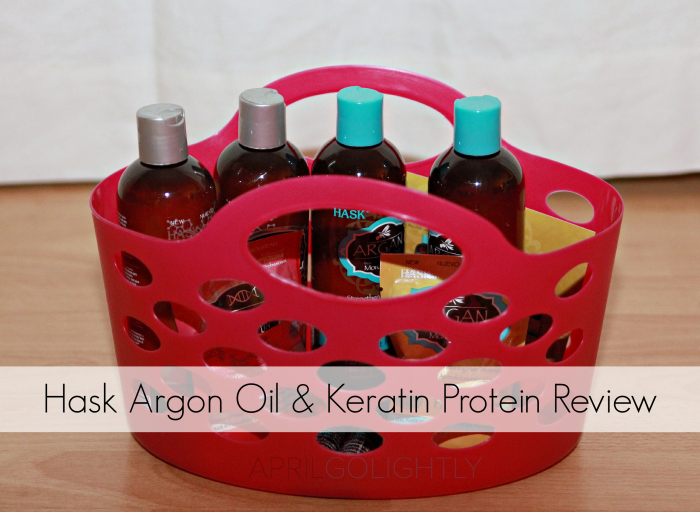 Hask Argon Oil and Keratin Protein Review aprilgolightlty.com