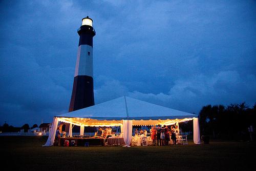 lighthouse wedding