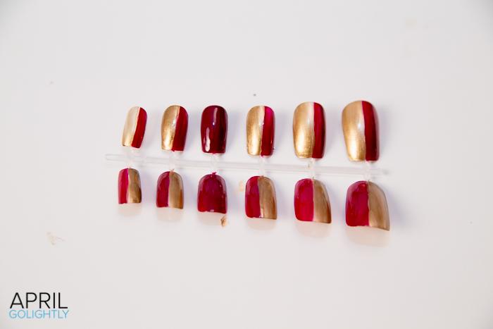 Florida School Nails -9766