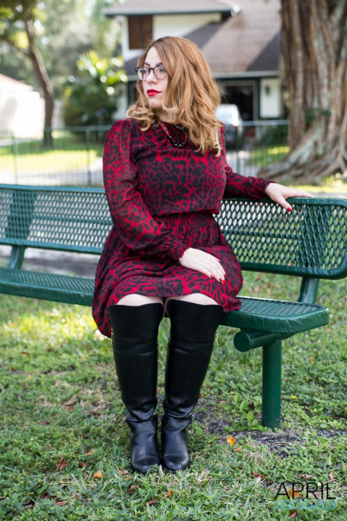 Holiday Over the Knee boots -0708