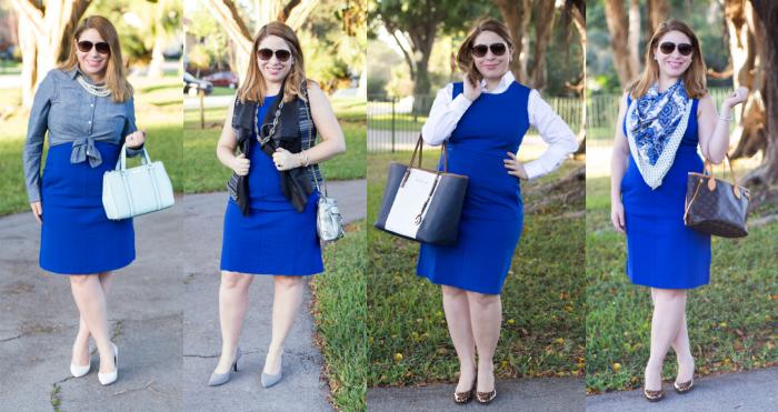 4 ways to Sheath Dress