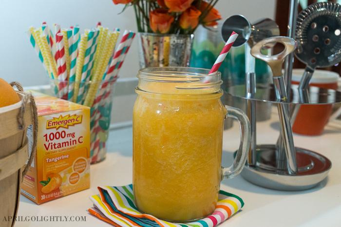 Coconut Mango Emergen-C Smoothie-2