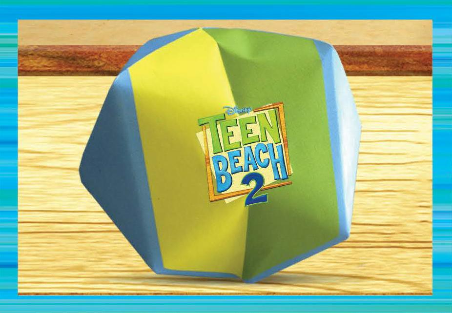 Orgami-beach-ball