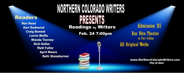 Reading by Writers feb 24 2015