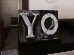 Y is for Yo 2015 A to Z Challenge -- April J. Moore