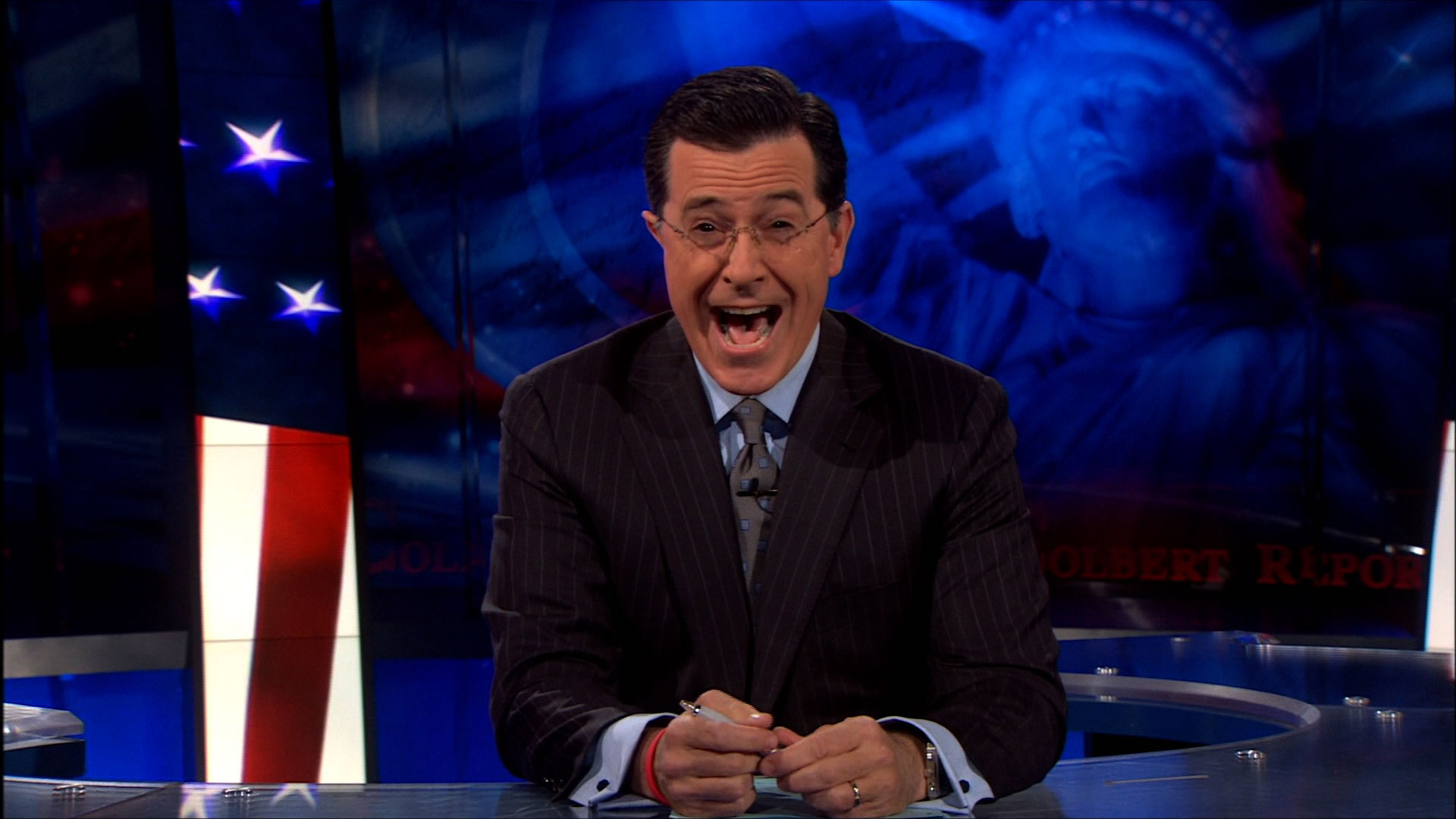 "Stephen Colbert on ""The Colbert Report"""