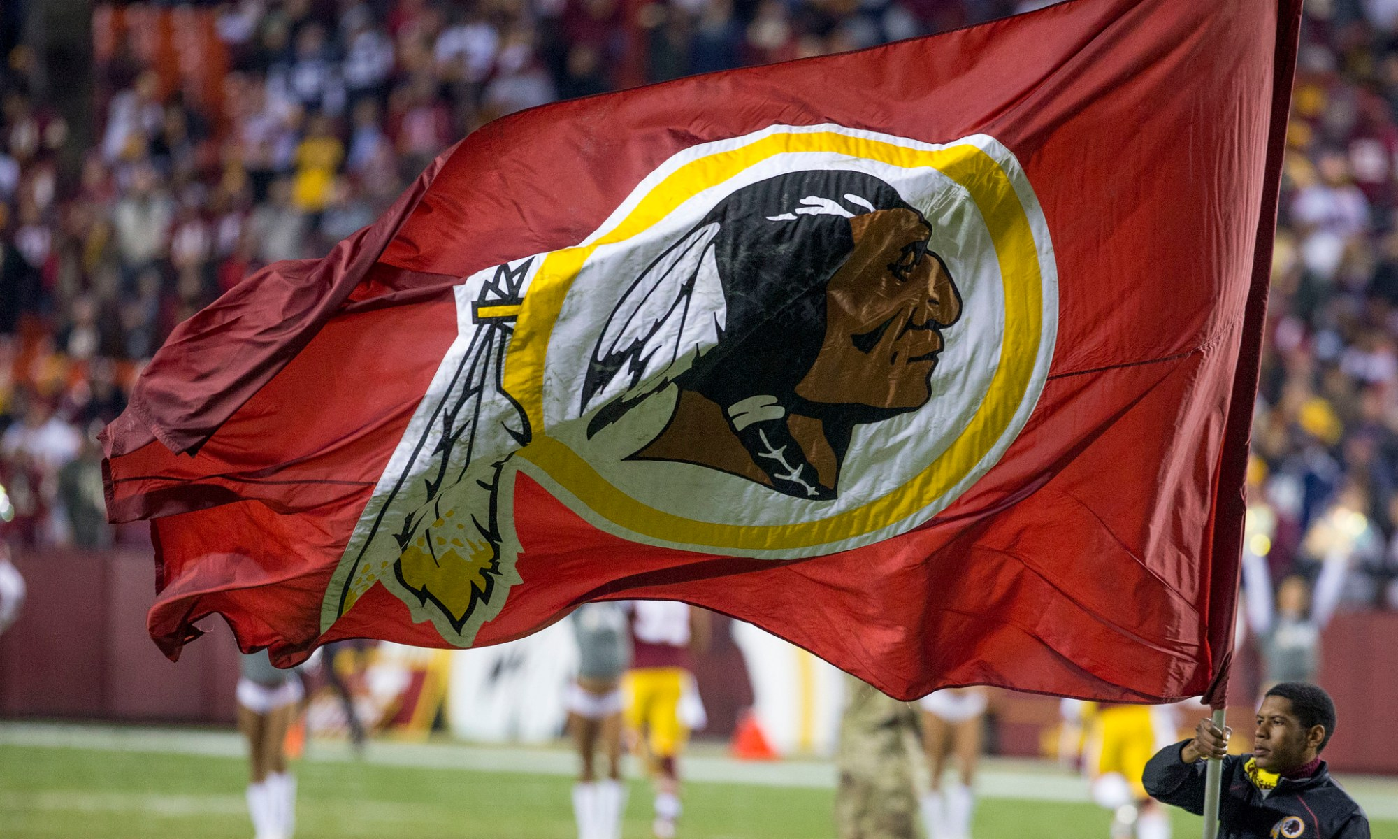 Washington Redskins flag