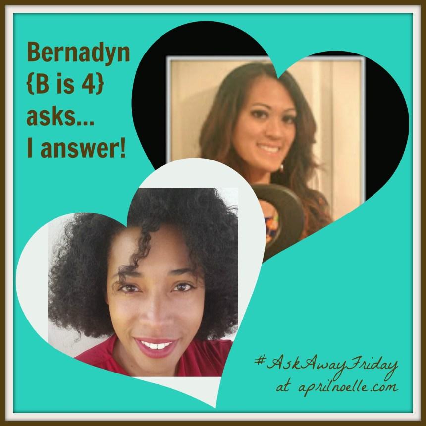 Love Behind the Screen with Bernadyn {B is 4}