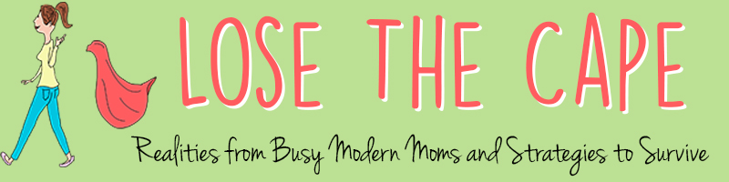 Just Plain Practical and Helpful Parenting Advice {Lose the Cape Review}