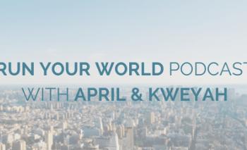 New Podcast Episode: It's Graduation Season {Run Your World: 8}
