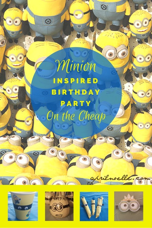 Minion Inspired Birthday Party on The Cheap