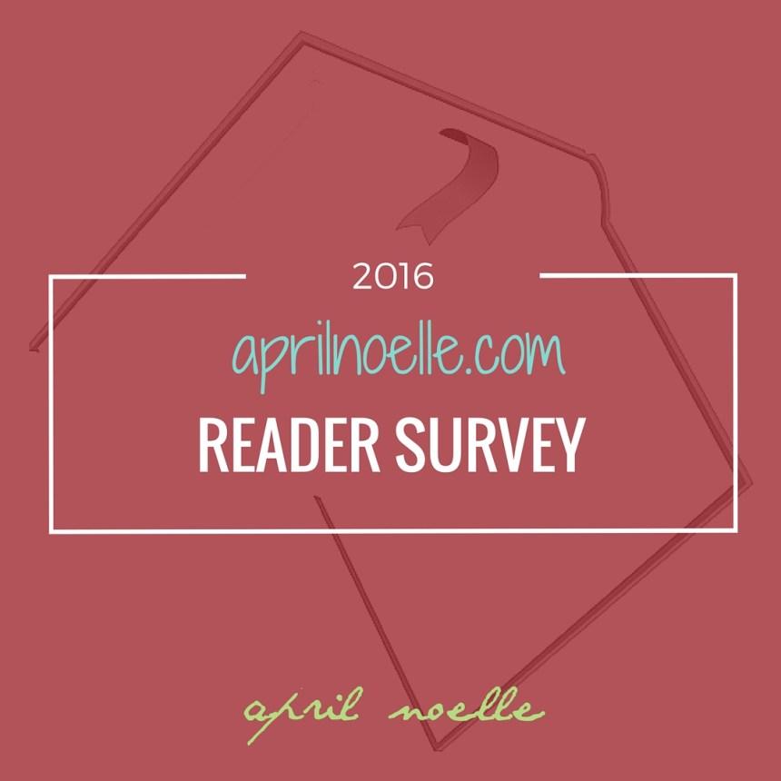 2016 April Noelle Reader Survey