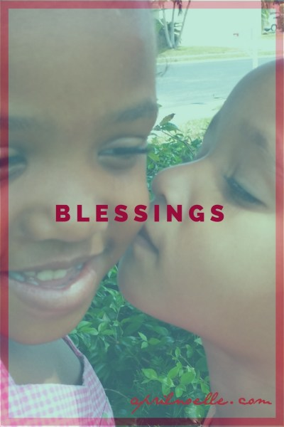 Blessings | Bee and Butterfly | AprilNoelle.com