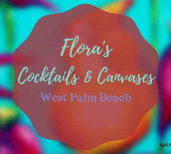 Flora's Cocktails and Canvases | AprilNoelle.com