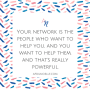 Your Network Is... | Networking Isn't an Event | AprilNoelle.com