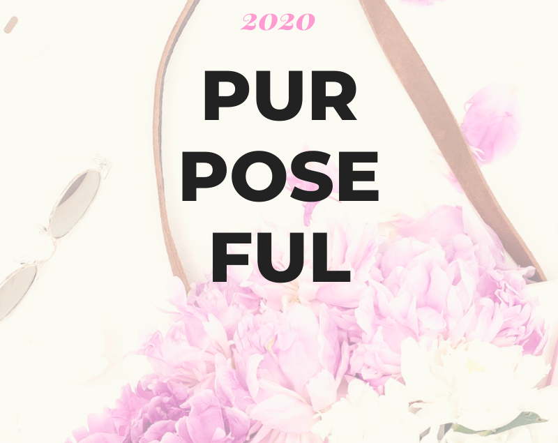 Purposeful | 2020 Blog Graphic | AprilNoelle.com