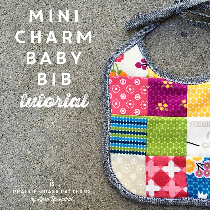 MiniCharm Baby Bib by April Rosenthal