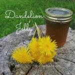 Dandelion Jelly