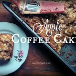 Apple Coffee Cake. And Soil.