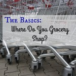 The Basics – Where Do You Grocery Shop?