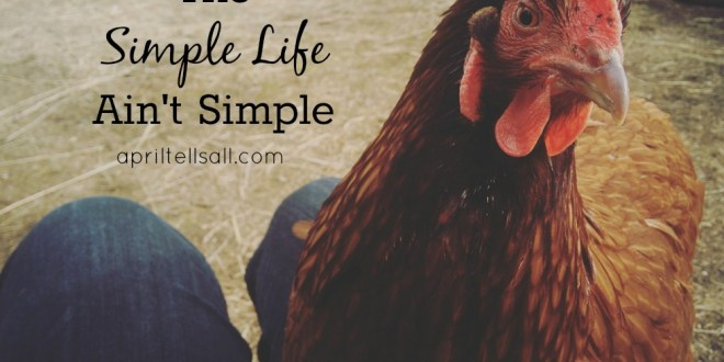 The Simple Life Ain't Simple