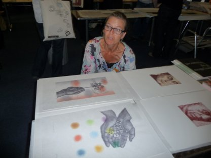 Jacomin brought woodblock prints