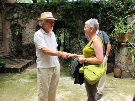 Jim Hibbard welcomes Karen Kunc