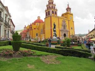 downtown Guanajuato, the Basilica