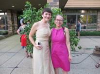Rachel and April