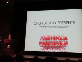 Printopolis was a four day conference in Toronto.