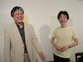 master printers Keizo Sato and Shoichi Kitamura
