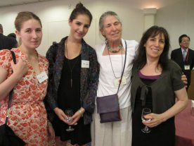 Jody, Dana, and Catherine Kernan with Susan Rostow, all US