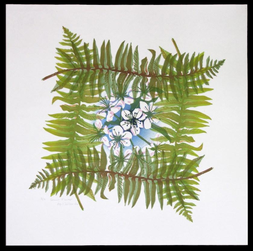 Secret Flower, 2006 by April Vollmer