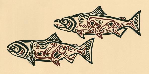 Chíin Xaadee ~ Salmon People I