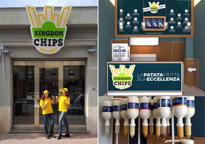 Kingdom Chips Bruxelles Franchising Patate Fritte