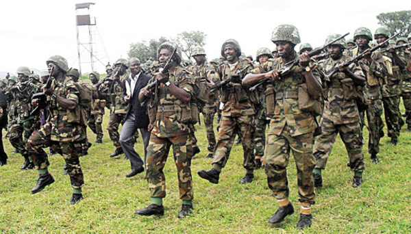 Soldiers Move Deeper Into Sambisa Forest