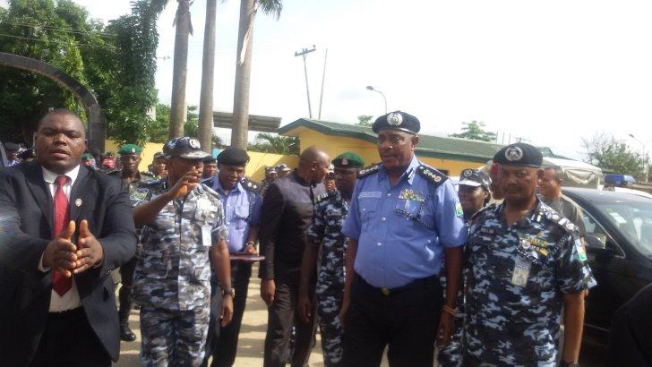 Arrest Anyone Inciting Violence—Police IG