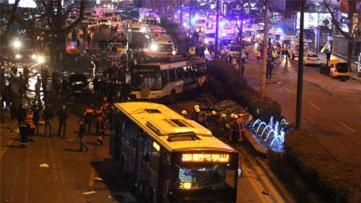 27 Killed, 125 Wounded In Turkey's Blast